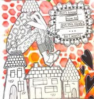 Dylusions - Rubber Stamps - Clockwork
